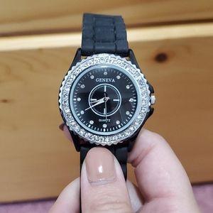 ‼️3/$20 Geneva Crystal Diamonds Watch